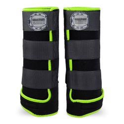 Legprotectors FANTASY Black / Green