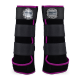 Legprotectors FANTASY Black / Pink