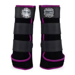 Legprotectors FANTASY Black / Purple
