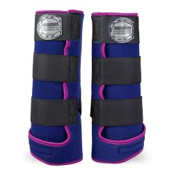 Legprotectors FANTASY Blue Navy / Purple