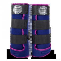 Legprotectors FANTASY Blue Navy / Pink