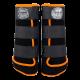 Legprotectors FANTASY Black / Orange