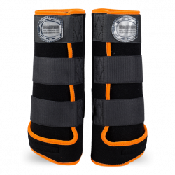 Legprotectors FANTASY Black / Orange