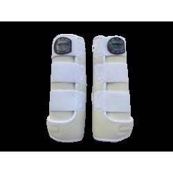 legprotecor white with white piping