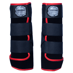 Legprotectors FANTASY black-red