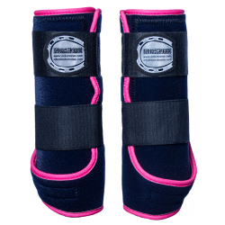 Legprotectors FANTASY navy blue pink