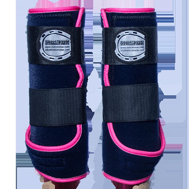 Legprotectors FANTASY navyblue pink