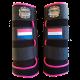 legprotectors Fanatasy black pink Dutch flag