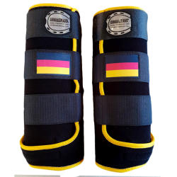 legprotectors fantasy black yellow german flag