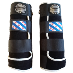 legprotectors fantasy black white frisian flag