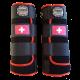 legprotectors fantasy black red swiss flag