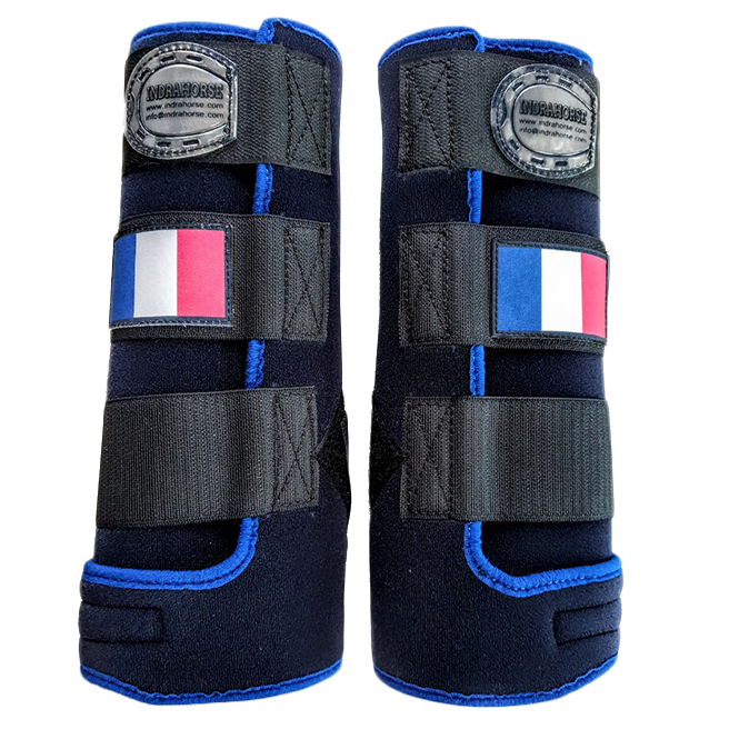 legprotectors Fantasy navy blue french flag